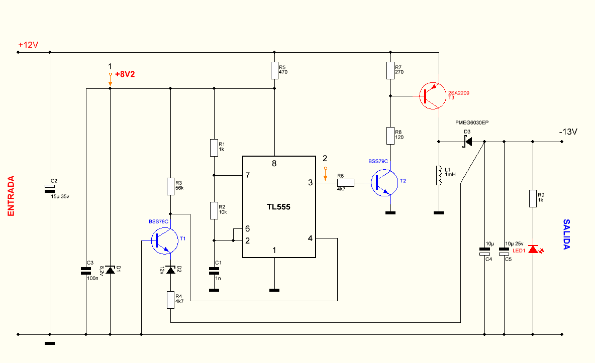 Buck-Boost (Inverting) Converter